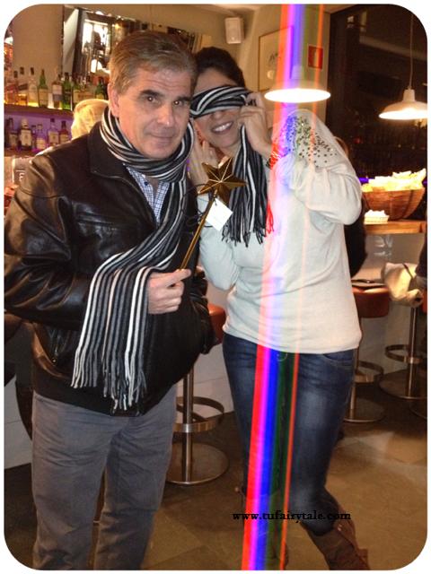 Una cena con Pedro Ruiz. Restaurante Quinto Pino. Barcelona.