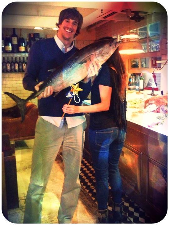 Una comida con Viran Morros, deportista de elite. Restaurante Beef Shop, Barcelona.