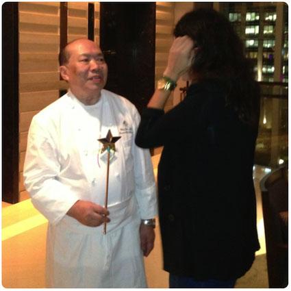 Menu tasting Three Michelin Star ***. Chef Chan Yan Tak, Four Seasons Hotel, Hong Kong. Lung King Heen Restaurant.