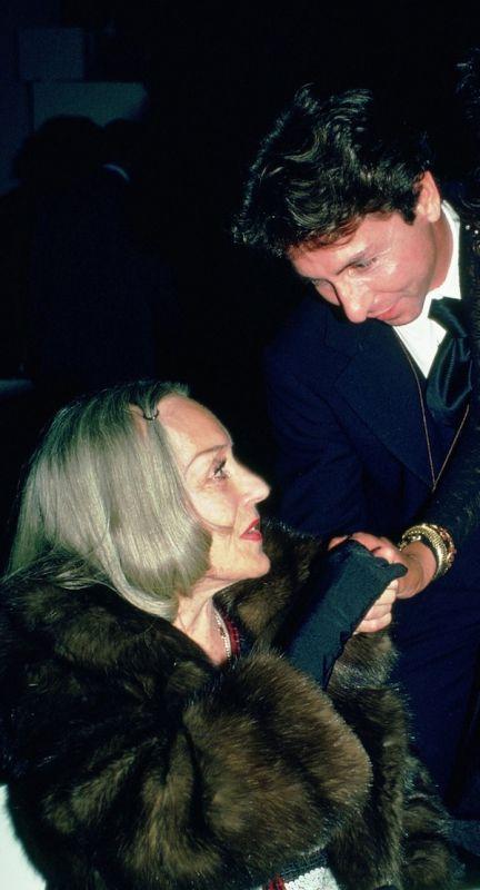 Carlos y Gloria Swanson