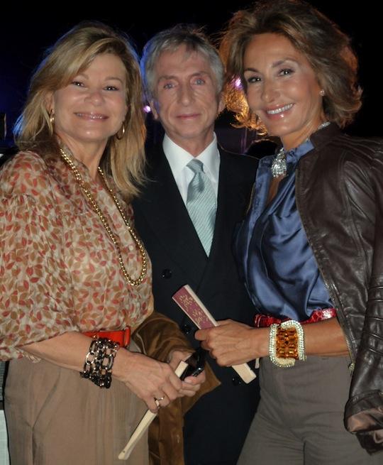 Carlos, Nati Abascal y Cari Lapique