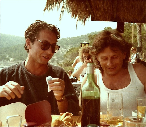 Carlos y Roman Polanski