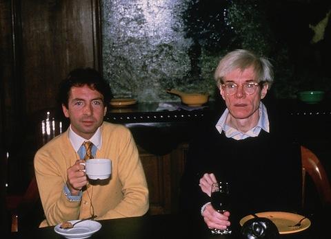 Carlos y Andy Warhol