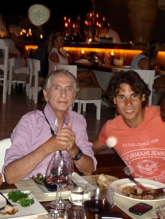 Carlos y Rafa Nadal