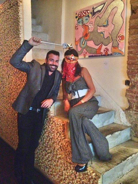 Entrevista a Jaume Sanllorente, Sonrisas de Bombay. Restaurante Zanzíbar, Barcelona.