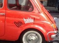 Restaurante Ouh Babbo!, Madrid. Entrevista a Jaime Royo-Villanova, escritor.