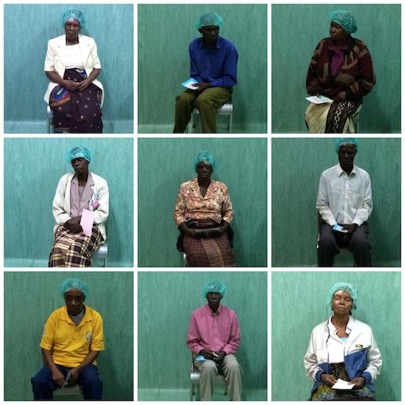 Pacientes esperando a ser operados