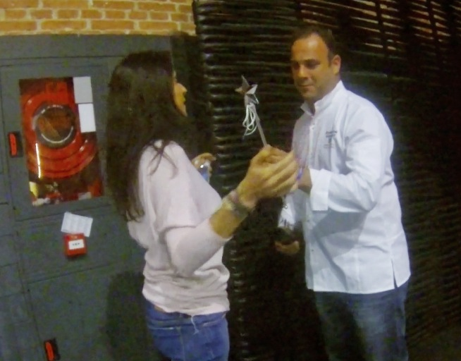 Ángel León y Carolina Ribera