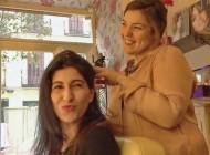 Tocada por Mónica Roldán y sus trucos de belleza, la maquilladora de las celebs. Madrid.
