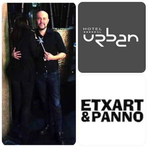 Una cena con Pedro Andrea, guitarrista. Glass Bar, Hotel Urban, Derby Hotels, Madrid.