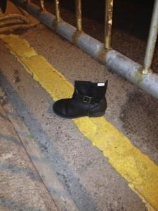 Perdí mi zapato a lo Cinderella...