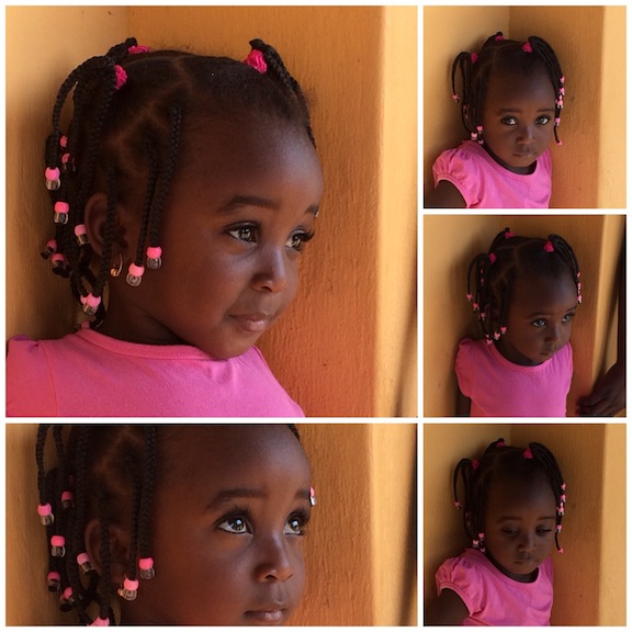 Belleza mozambiqueña, un ángel