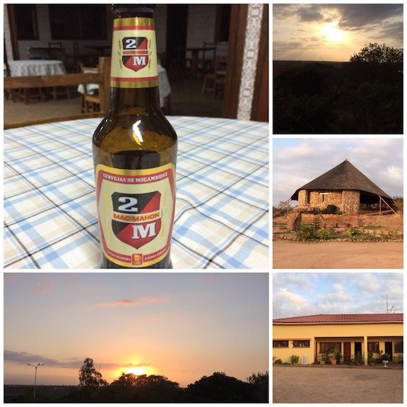 El sol se pone, el sol sale! la iglesia, el orfanato y nuestra cervecita a medias esperándonos después de un duro pero gratificante día de trabajo