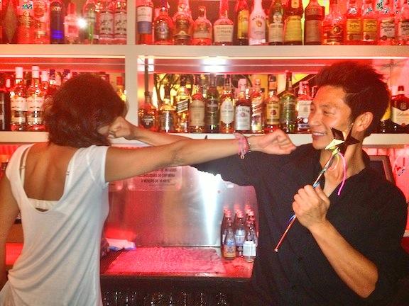 Alberto & Su Hada Madrina, practicando...