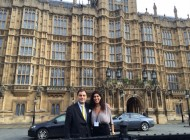 A coffee with Lord Bilimoria, House of Lords, London, UK.