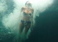 Nerea Garmendia me retó a saltar desde 5 metros… #noteatreves Tulum, Mexico.