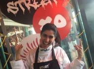 En cocina con el equipo de StreetXo, Madrid.